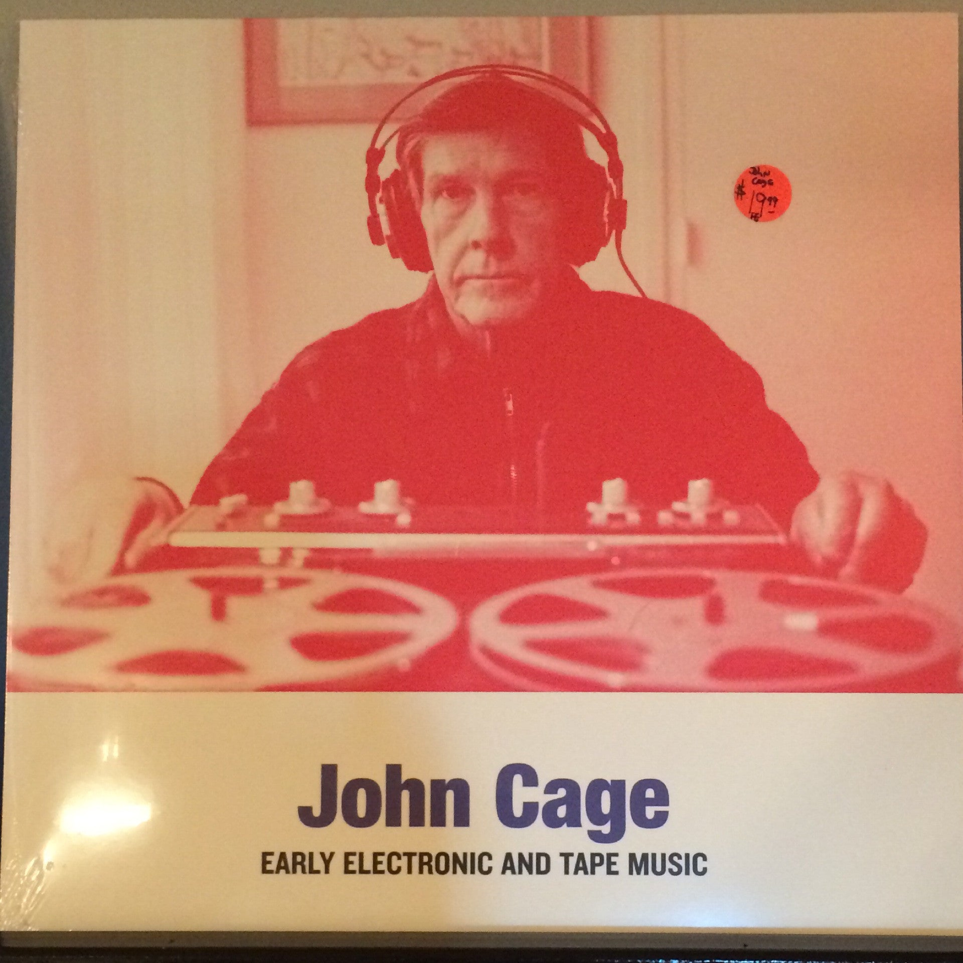 John Cage - Early Electronic And Tape Music LP
