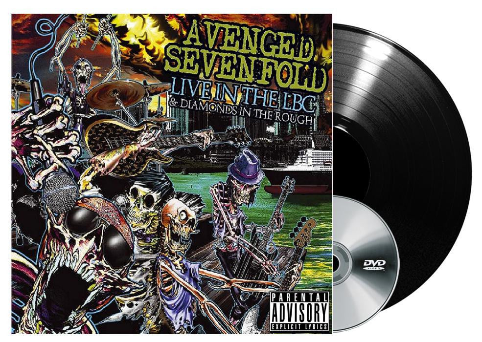 Avenged Sevenfold - Live in the LBC & Diamonds in the Rough LP+DVD