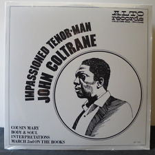 John Coltrane Impassioned Tenor Man LP