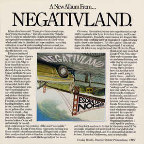 Negativland - Escape From Noise LP