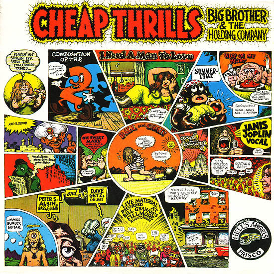 BIG BROTHER & THE HOLDING COMPANY FEAT. JANIS JOPLIN - CHEAP THRILLS LP
