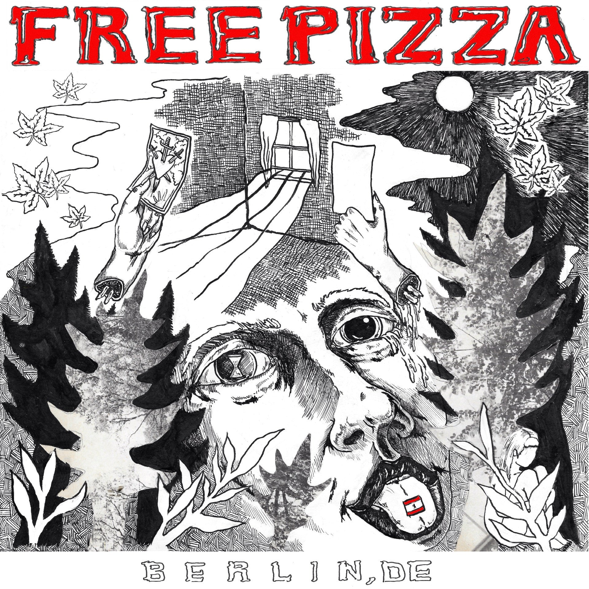 Free Pizza - Berlin, DE LP