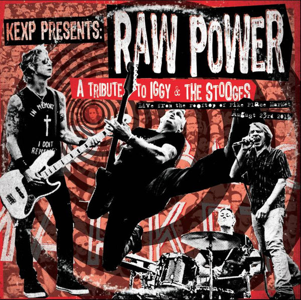Mike McCready, Duff McKagan, Mark Arm, Barrett Martin - KEXP - Raw Power Tribute to Iggy & The Stooges