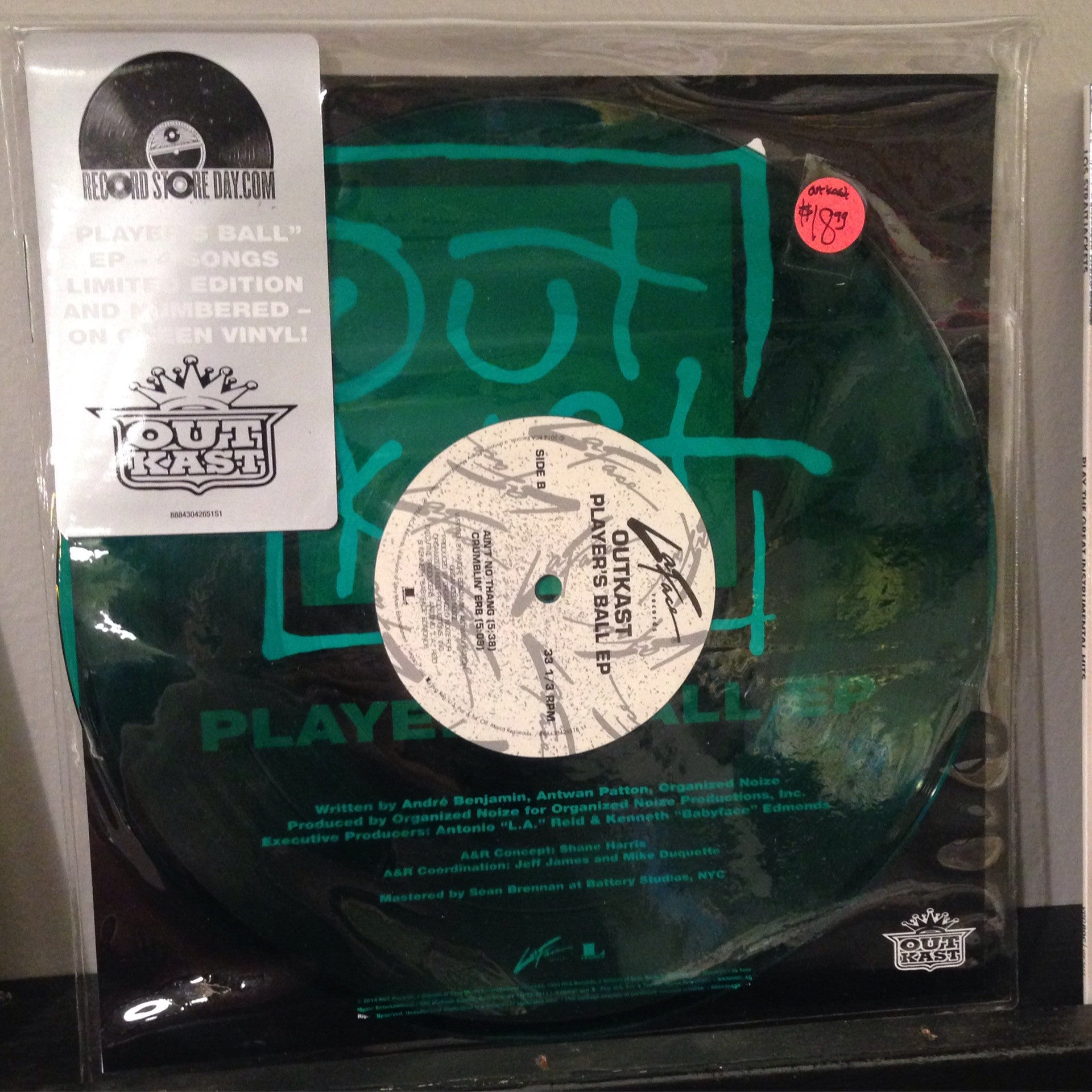 "Outkast - Player's Ball 10"" EP"