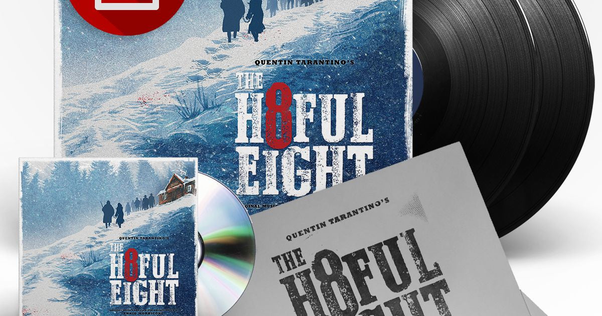 OST - The H8ful Eight LP (Universal Release)