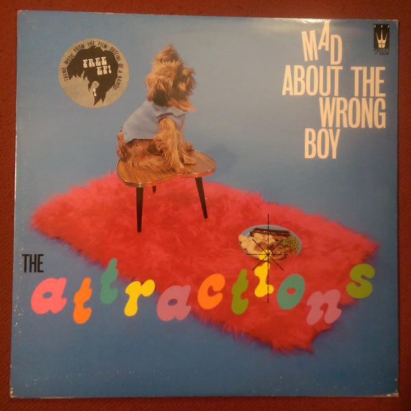 "The Attractions - Mad About the Wrong Boy LP w/ Bonus 7"" USED"