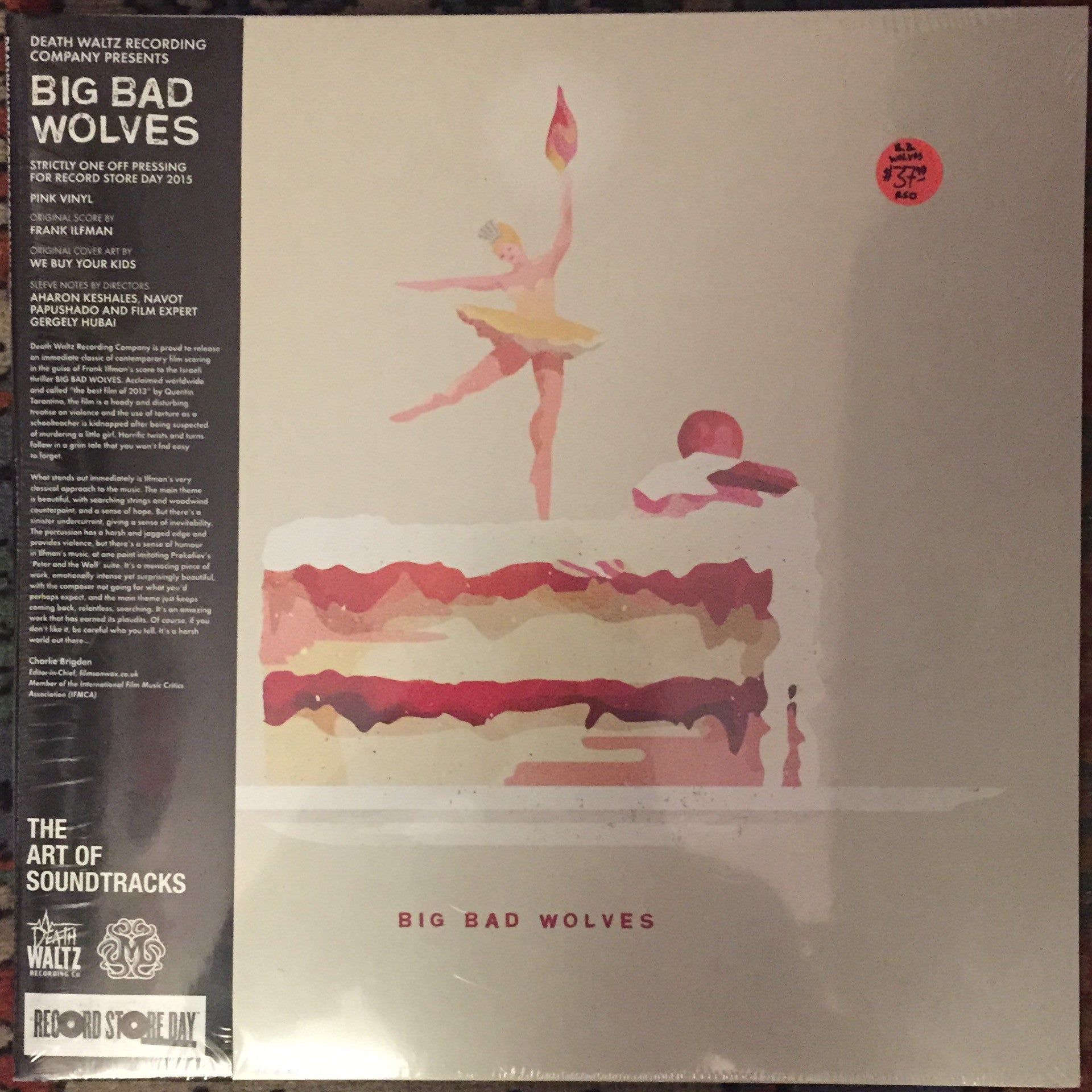 OST - Big Bad Wolves LP - Pink Vinyl