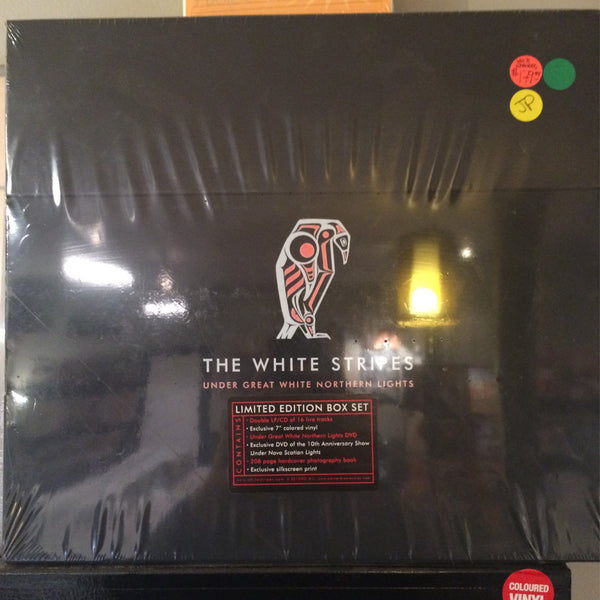 White Stripes - Under Great White Northern Lights - Limited Edition Box Set - New/sealed!