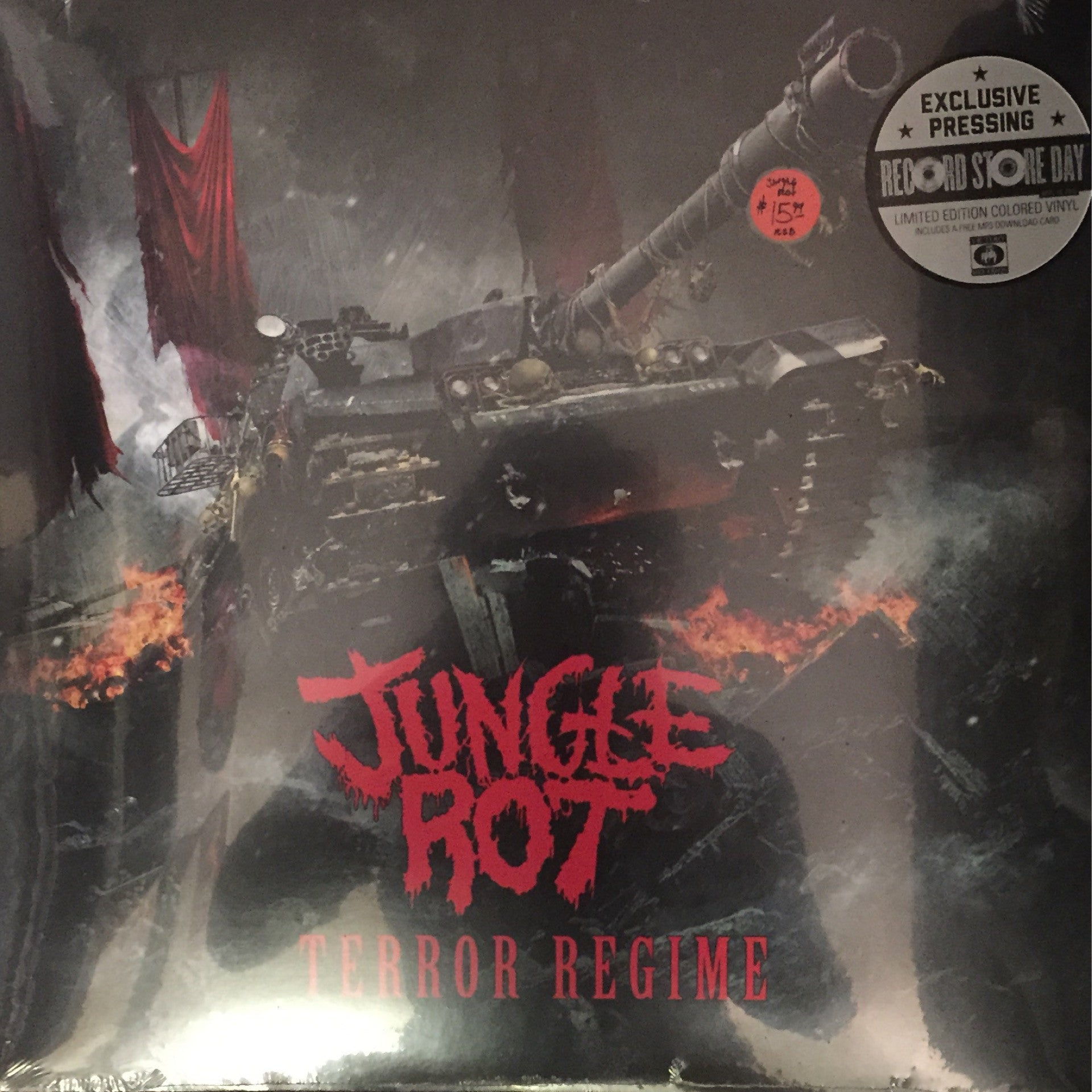 Jungle Rot - Terror Regime LP