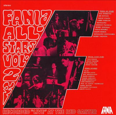 Fania All Stars - Live At The Red Garter Vol. 2 LP