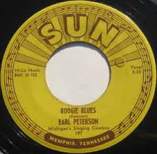Earl Peterson - Boogie Blues 7""