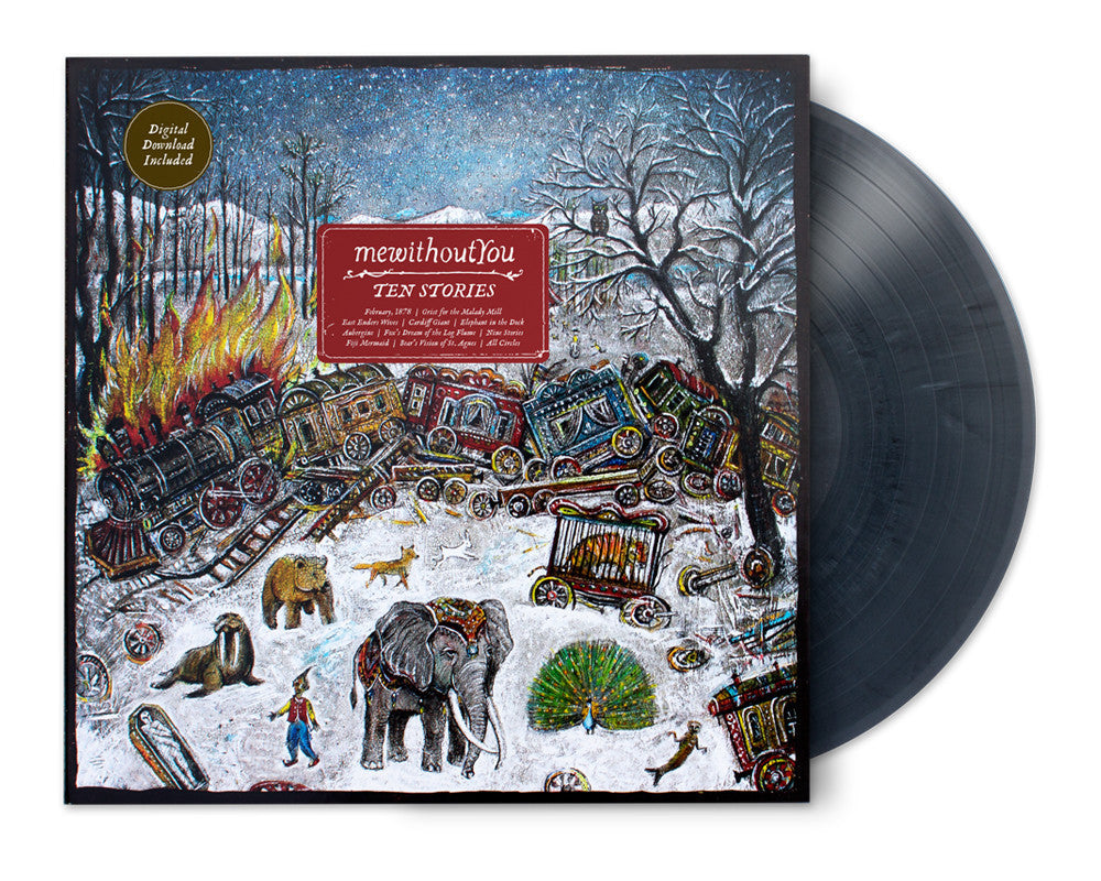 Mewithoutyou - Ten Stories LP (Grey Marble Vinyl)