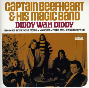 Captain Beefheart & His Magic Band - Diddy Wah Diddy+3 2x7""