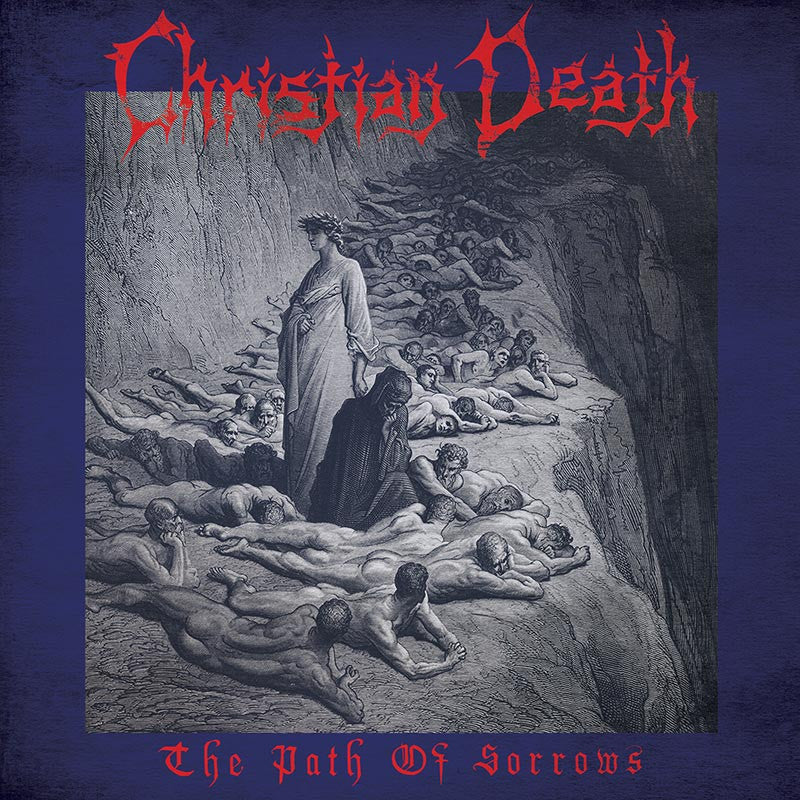 Christian Death - The Path of Sorrows LP (Blue Vinyl)