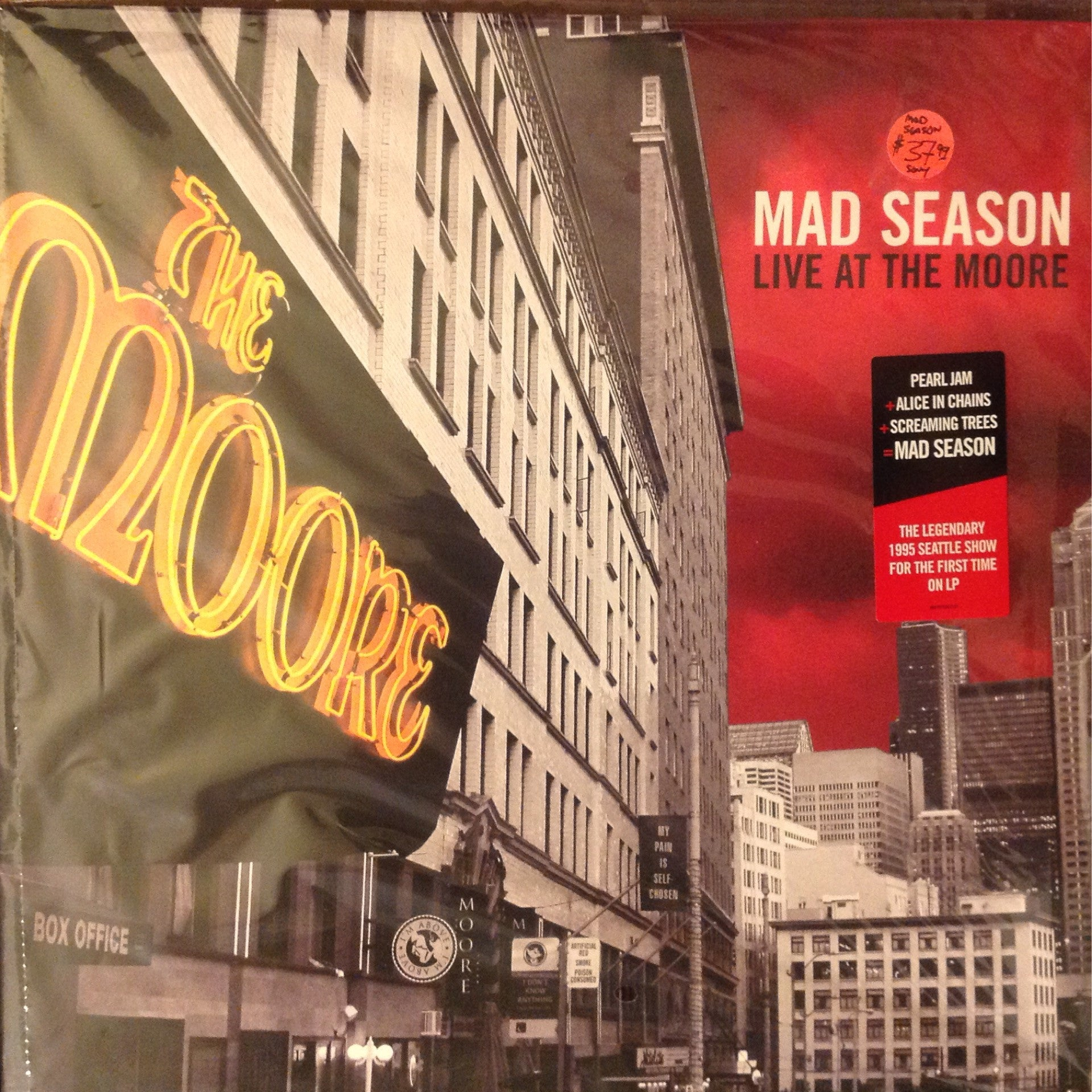 Mad Season - Live at the Moore 2xLP