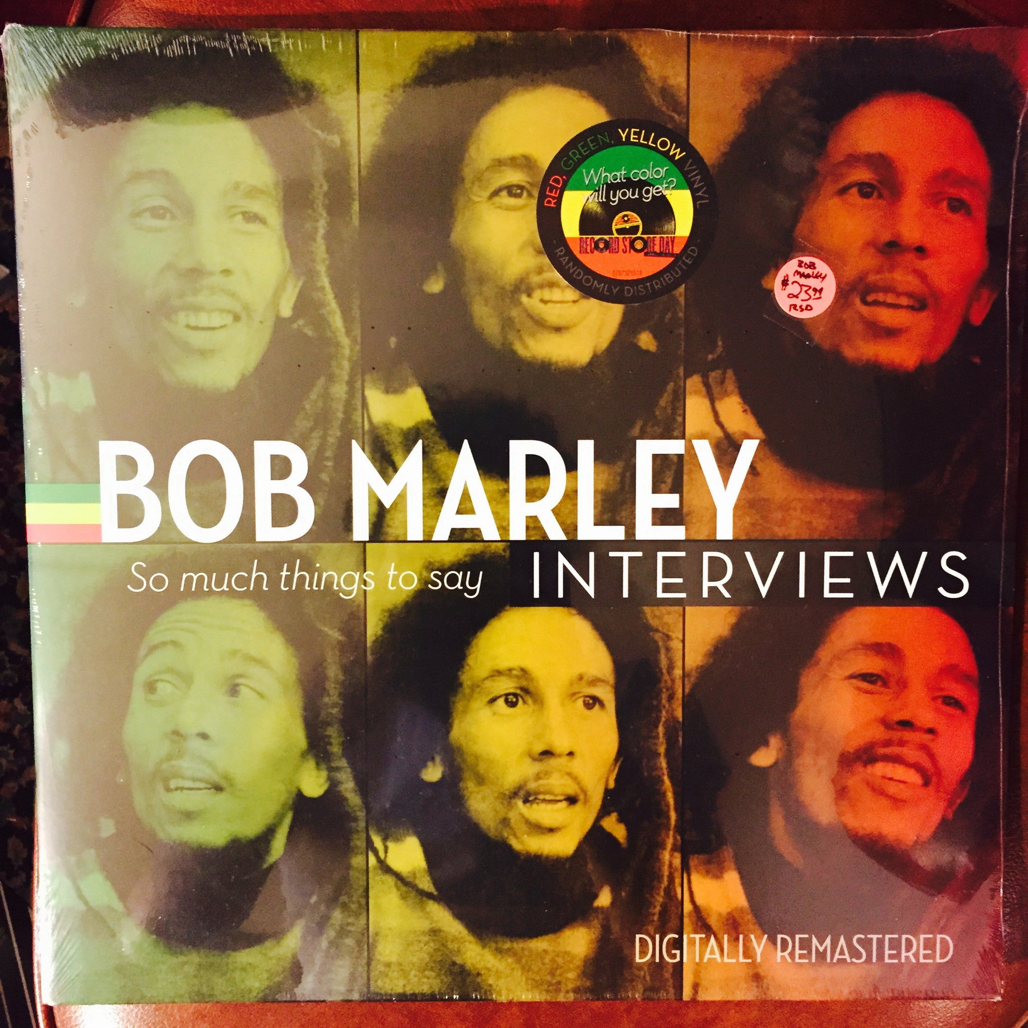 Bob Marley - Interview: So Much Things To Say LP (RSD 2015)