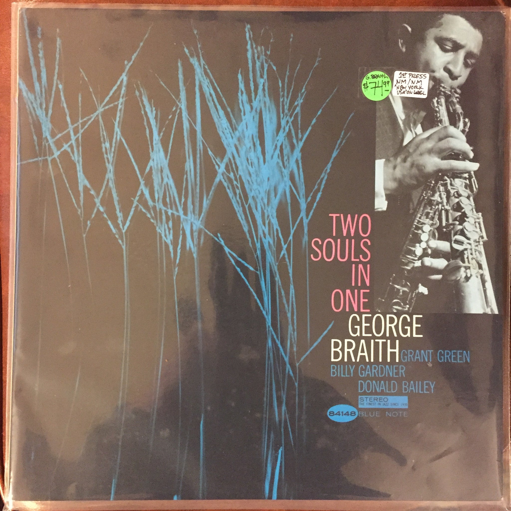 George Braith - Two Souls In One LP (Stereo 84148 Blue Note) - NM!