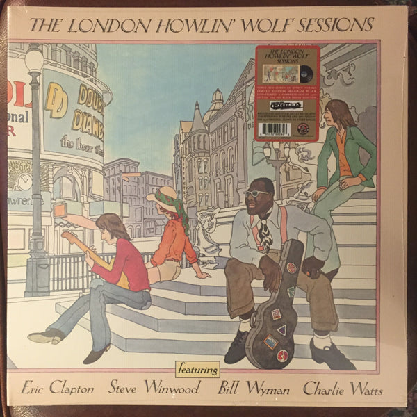 The London Howlin Wolf Sessions (featuring Clapton, Winwood, Wyman, and Watts) LP