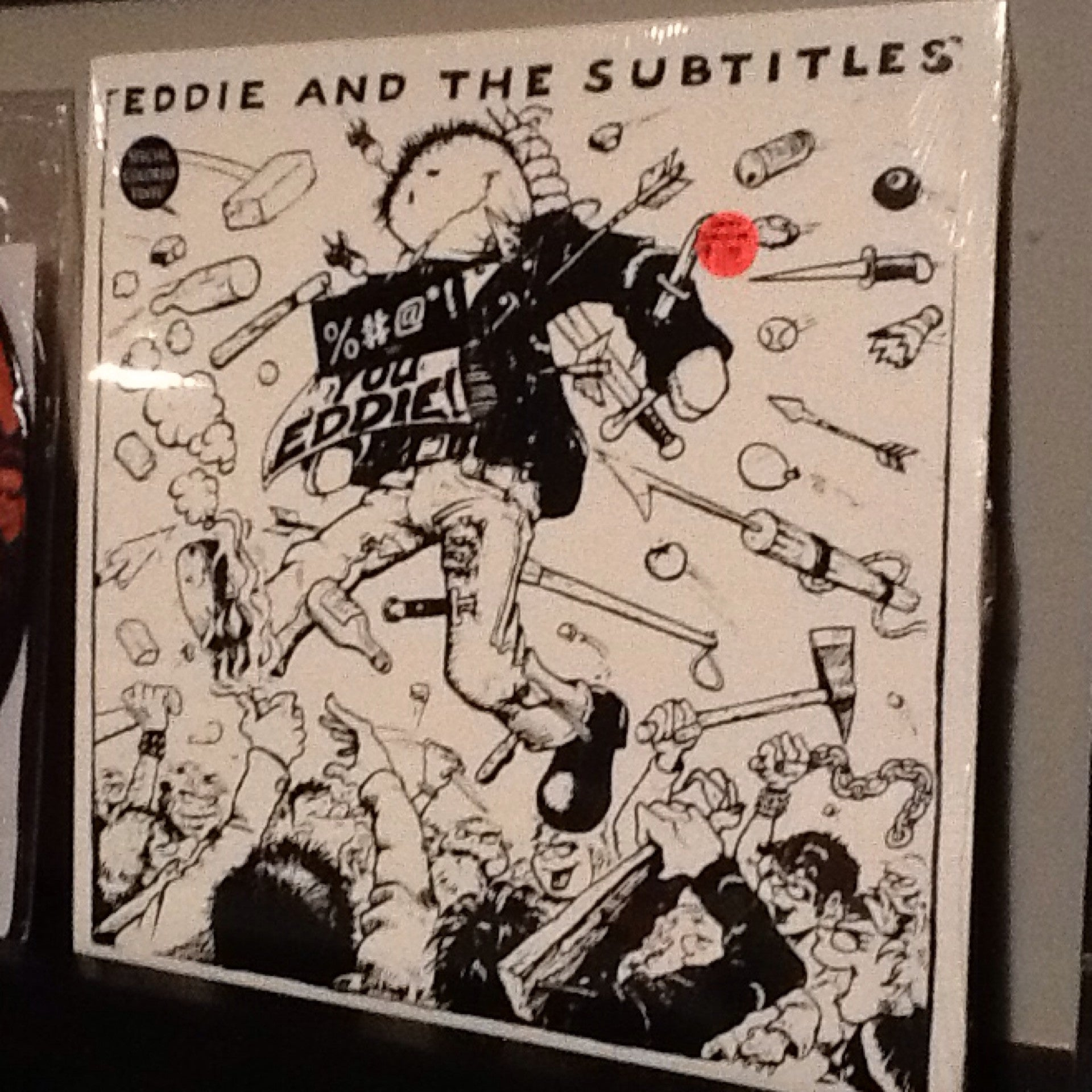 Eddie And The Subtitles - Fuck You Eddie LP - Colored Vinyl