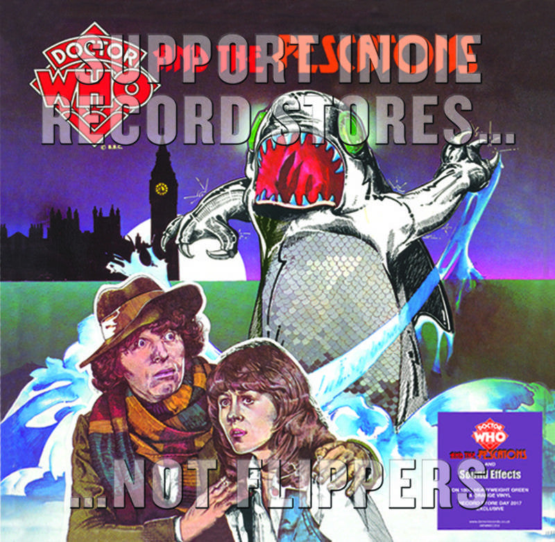 ST - Dr Who & The Pescatons & Sound Effects - 2LP (RSD 2017)