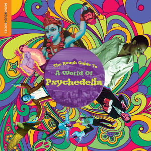 VA - The Rough Guide To A World Of Psychedelia LP