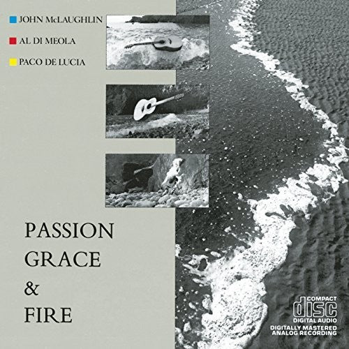 John McLaughlin, Al Di Meola, Paco De Lucia - Passion, Grace And Fire LP
