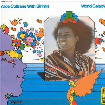 Alice Coltrane With Strings - World Galaxy LP