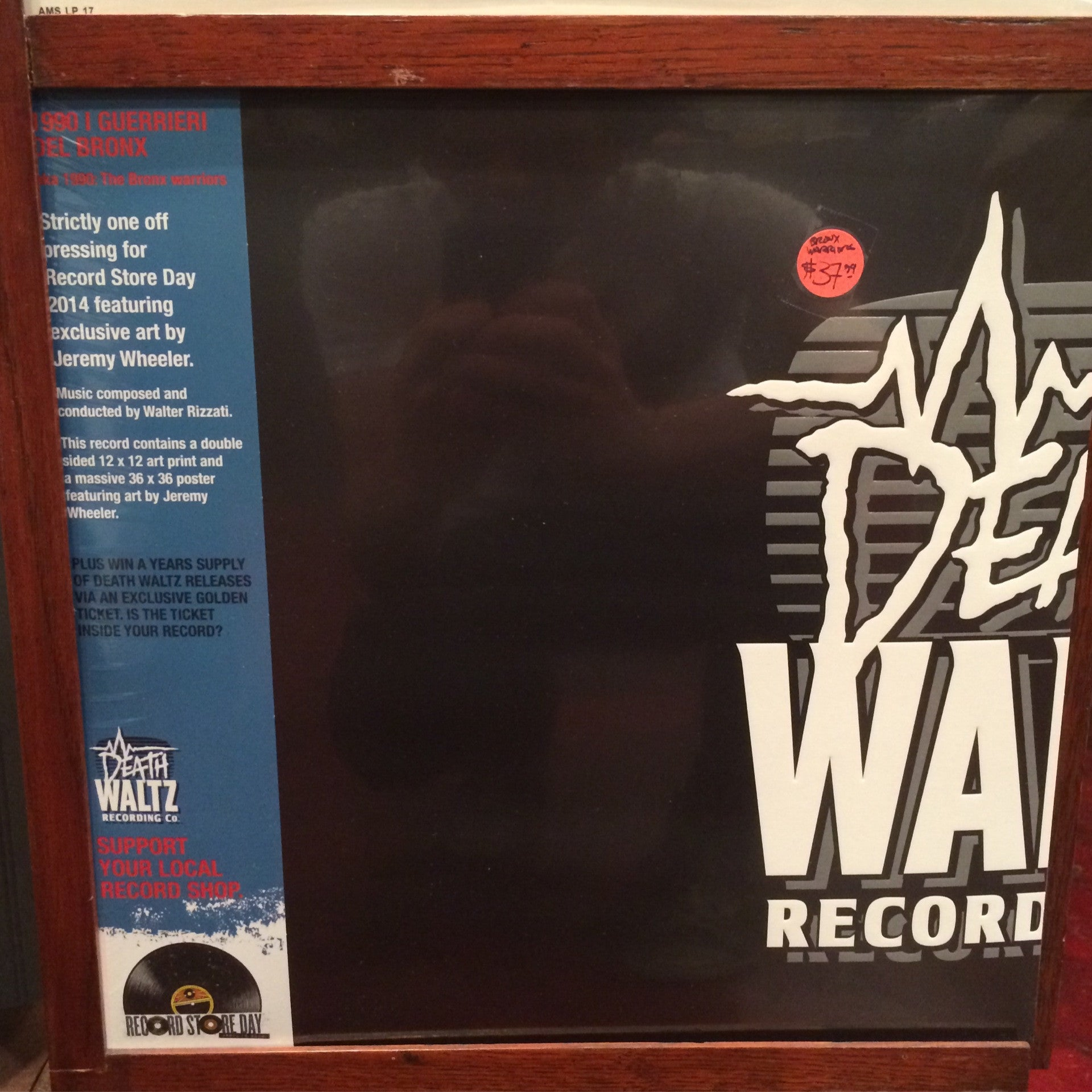 1990: The Bronx Warriors - LP - RSD 2014