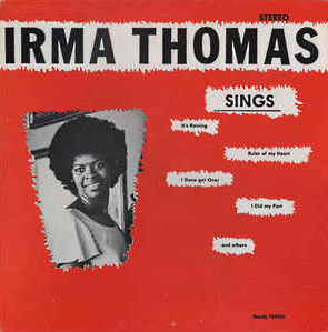 Irma Thomas - Sings -The New Orleans Series LP