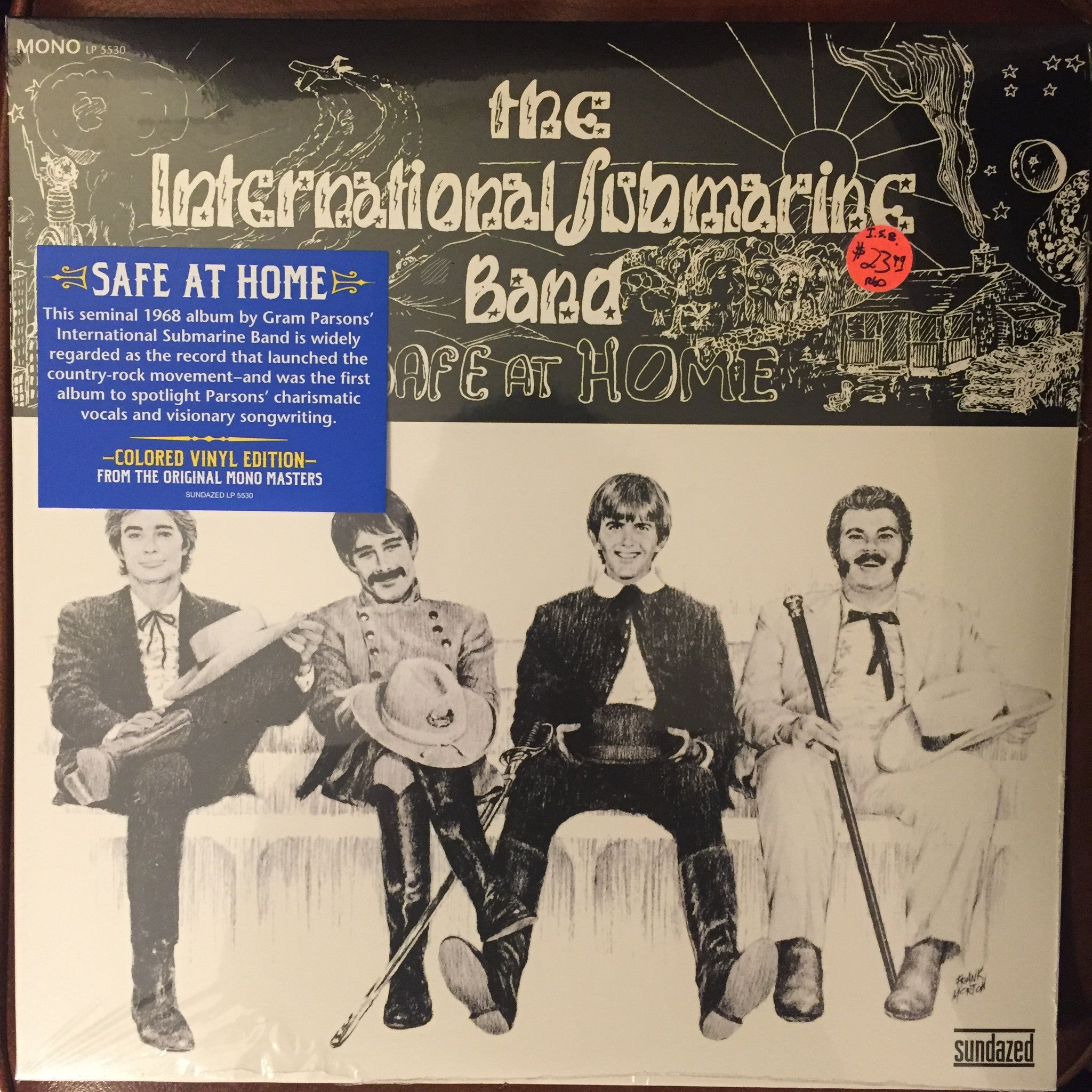 International Submarine Band - Safe At Home LP