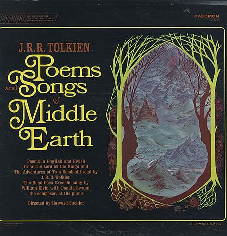 J. R. R. Tolkien - Poems and Songs of Middle Earth LP