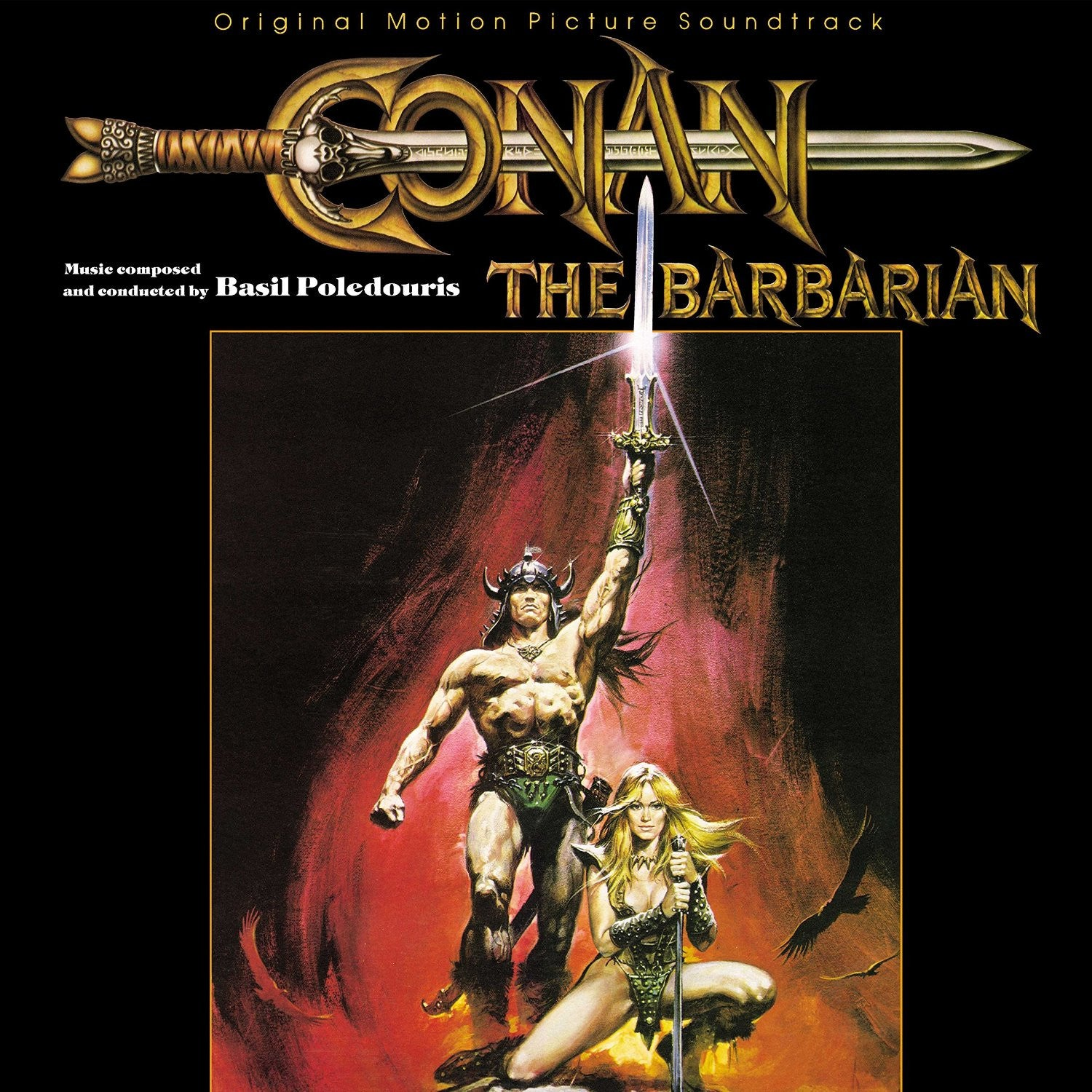 OST - Conan The Barbarian by Basil Poledouris LP (Reissue)
