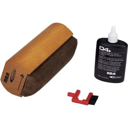 RCA Discwasher RD-1006 D4+ Record Cleaning Kit