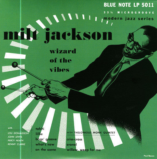 "Milt Jackson - Wizard of the Vibes 10"" (Blue Note Reissue)"