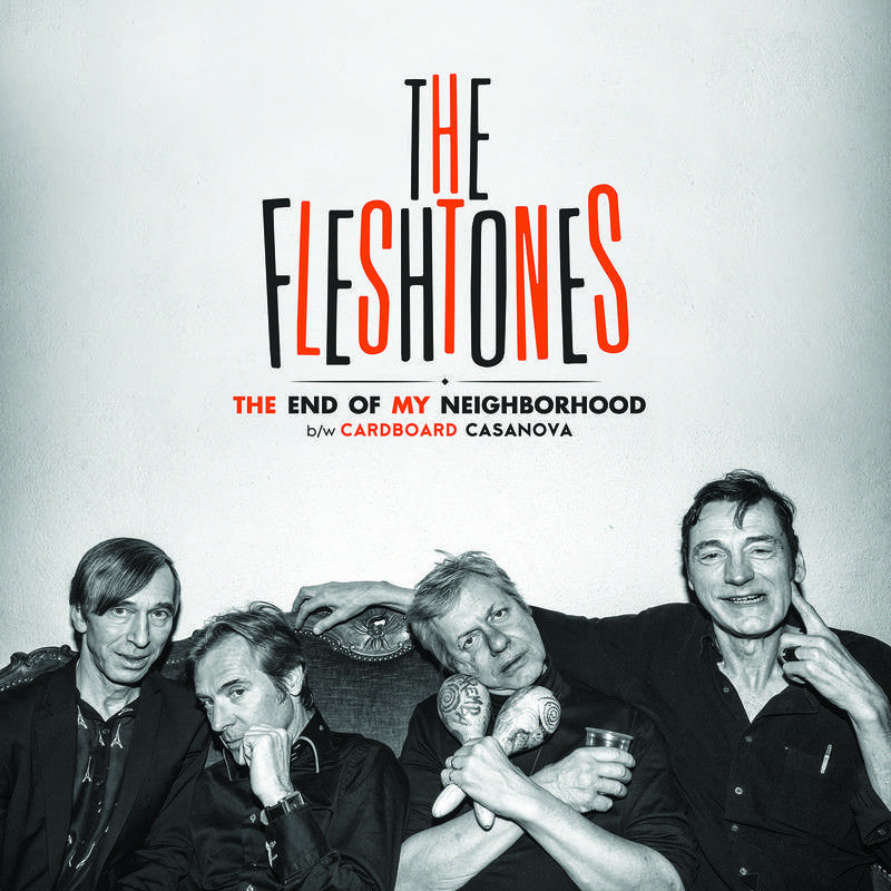 "The Fleshtones - ""The End Of My Neighborhood"" 7"""