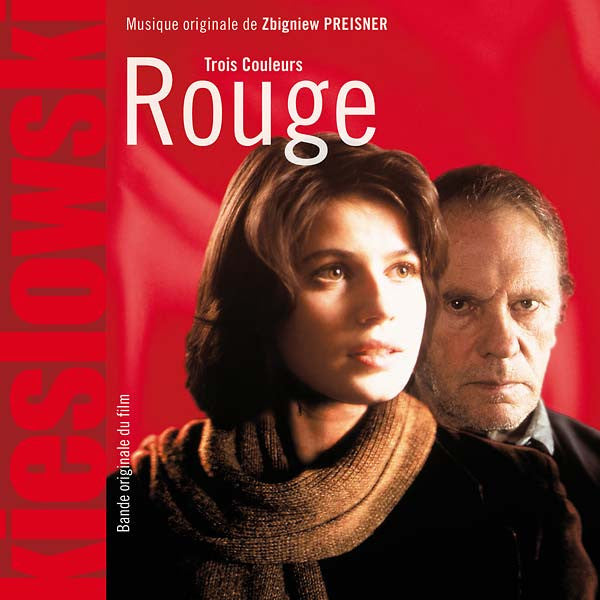 OST - KRZYSZTOFKIESLOWSKI/ZBIGNIEW PREISNER Three Colors: Red BECAUSE MUSIC (FRANCE) LP+CD