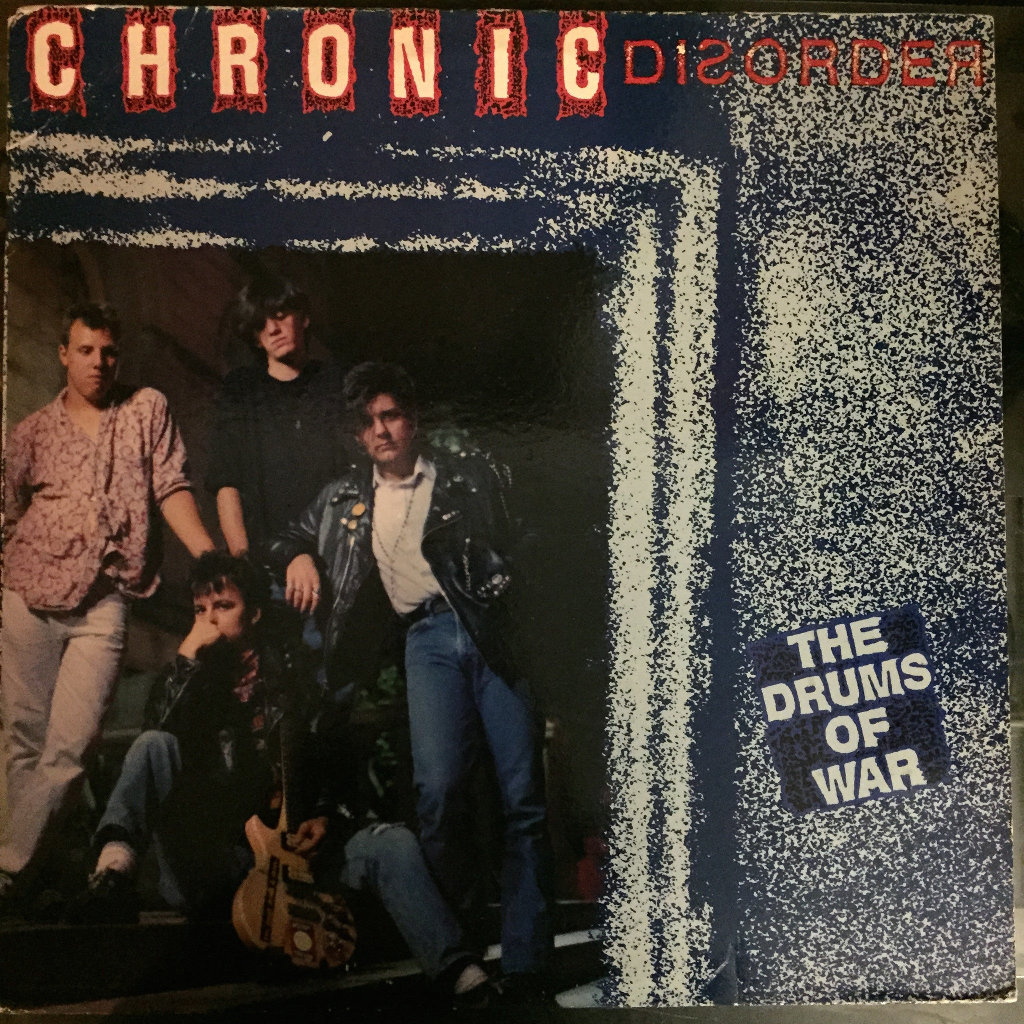 Chronic Disorder - The Drums of War LP (PBS 154)