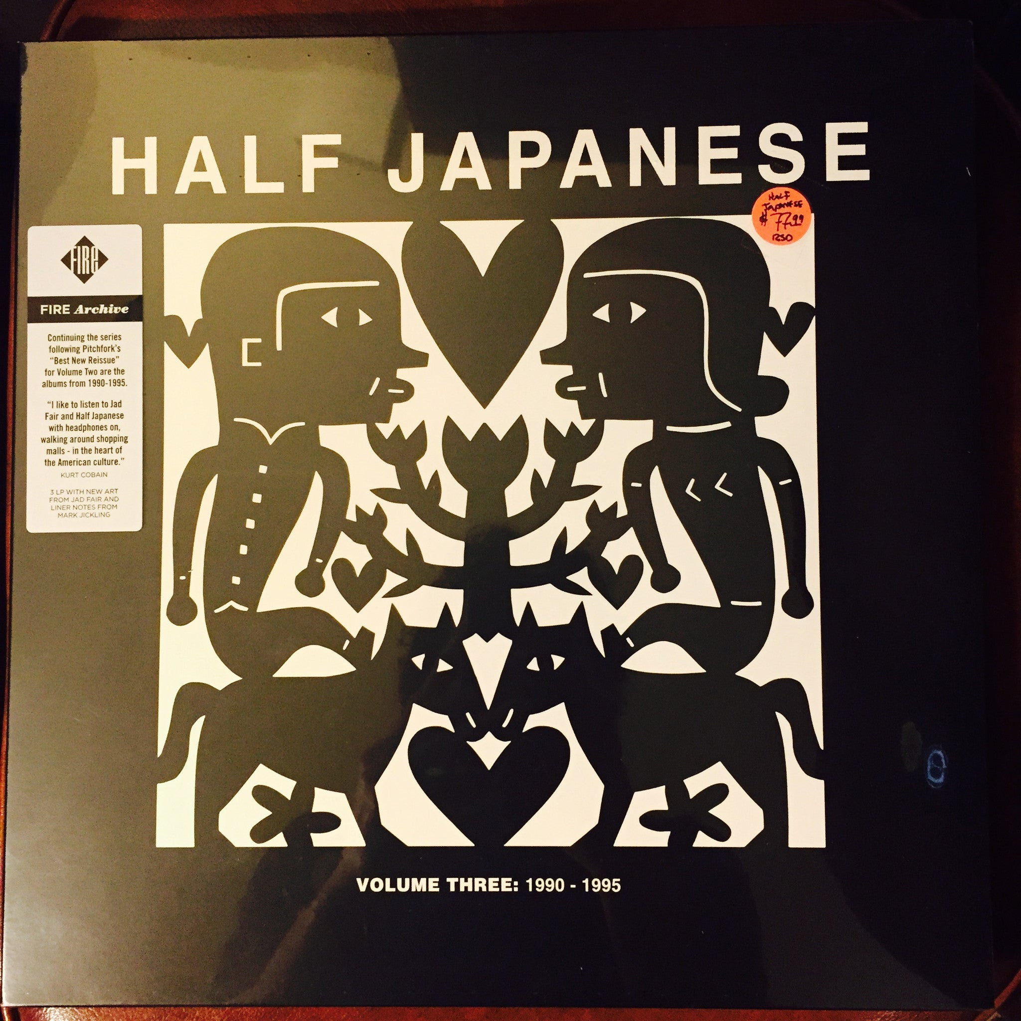 Half Japanese - Volume Three: 1990-1995 3xLP - RSD 2015 NEW/SEALED