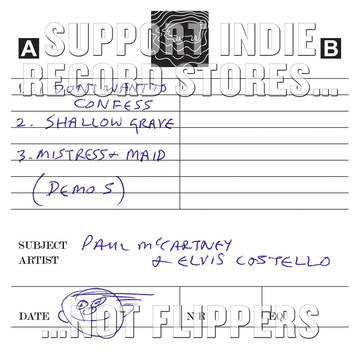 Paul McCartney & Elvis Costello - Cassette Demos  (RSD 2017)