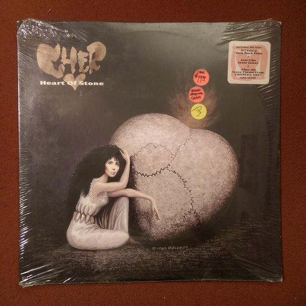 Cher - Heart Of Stone 1st Version, Original Cover LP NEW/SEALED