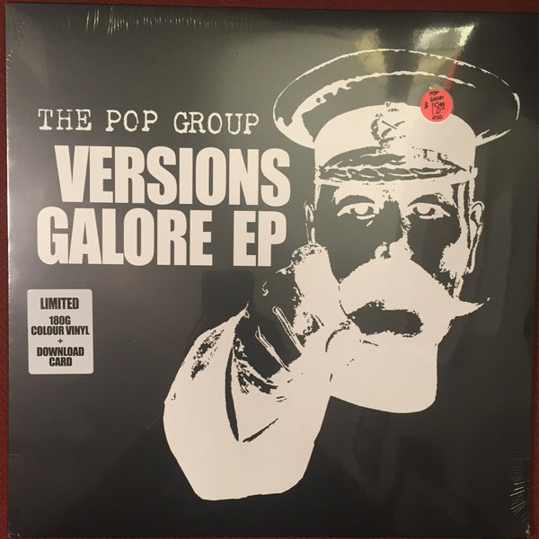 The Pop Group - Versions Of Galore EP (180 Gram Colored Vinyl)