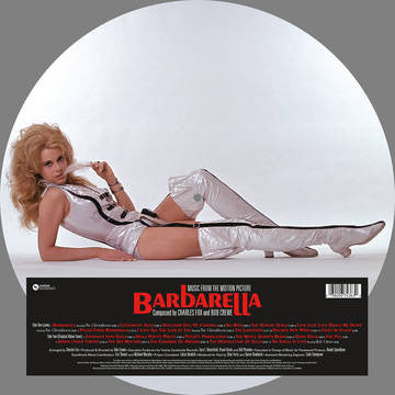 Charles Fox and Bob Crewe Barbarella OST Pic Disc LP RSD BF 2016
