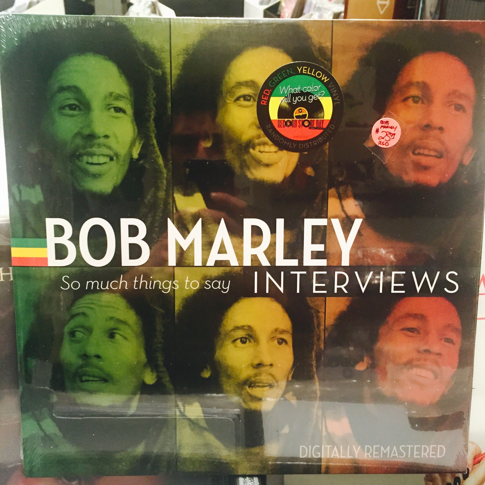 "Bob Marley Bob Marley Interviews--So Much Things To Say 12"" LP (RSD 2015)"