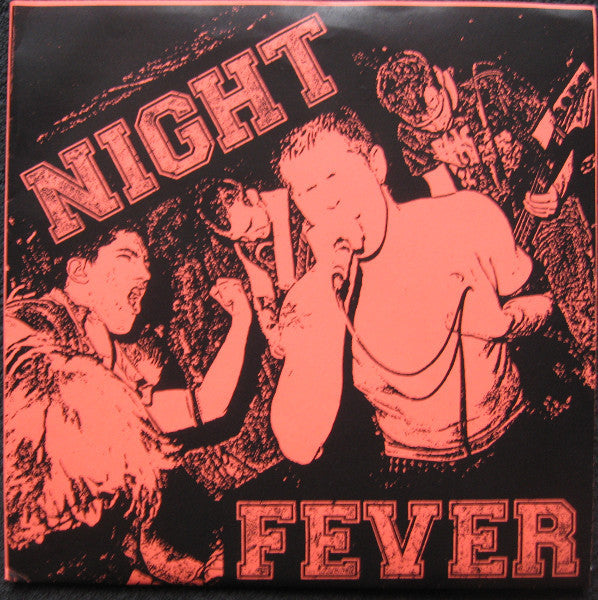 "Night Fever - Transparent EP 7"" - NW-52 - NM"