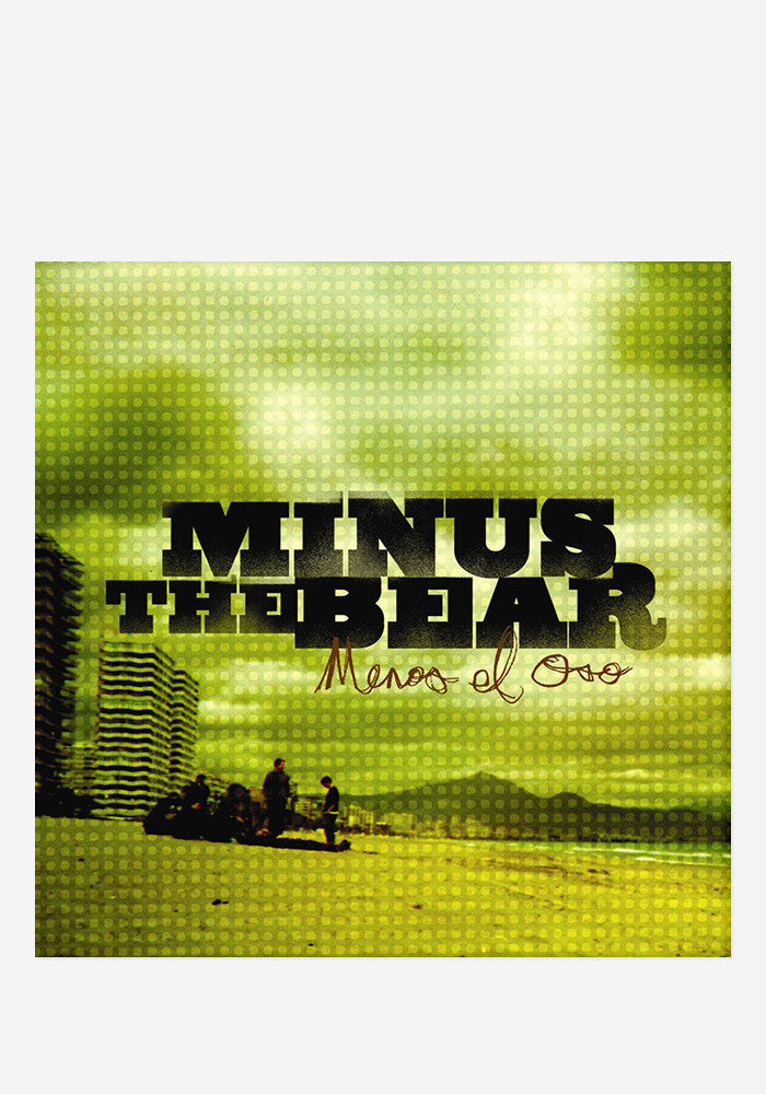 Minus the Bear - Menos El Oso LP (Clear w/Green High Melt Vinyl)