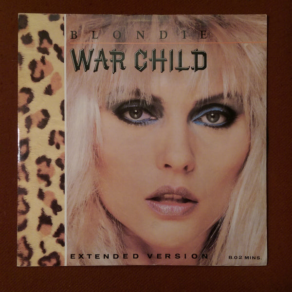 "Blondie - War Child 12"" SINGLE"