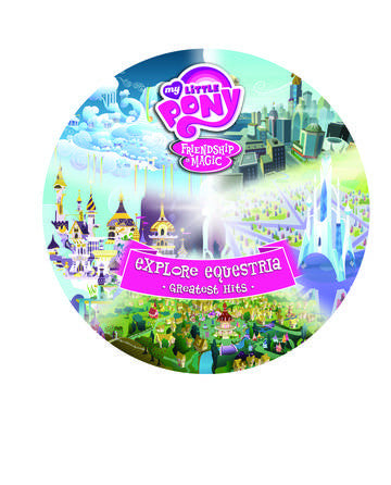 My Little Pony - Friendship Is Magic Explore Equestria: Greatest Hits Pic Disc LP RSD BF 2016