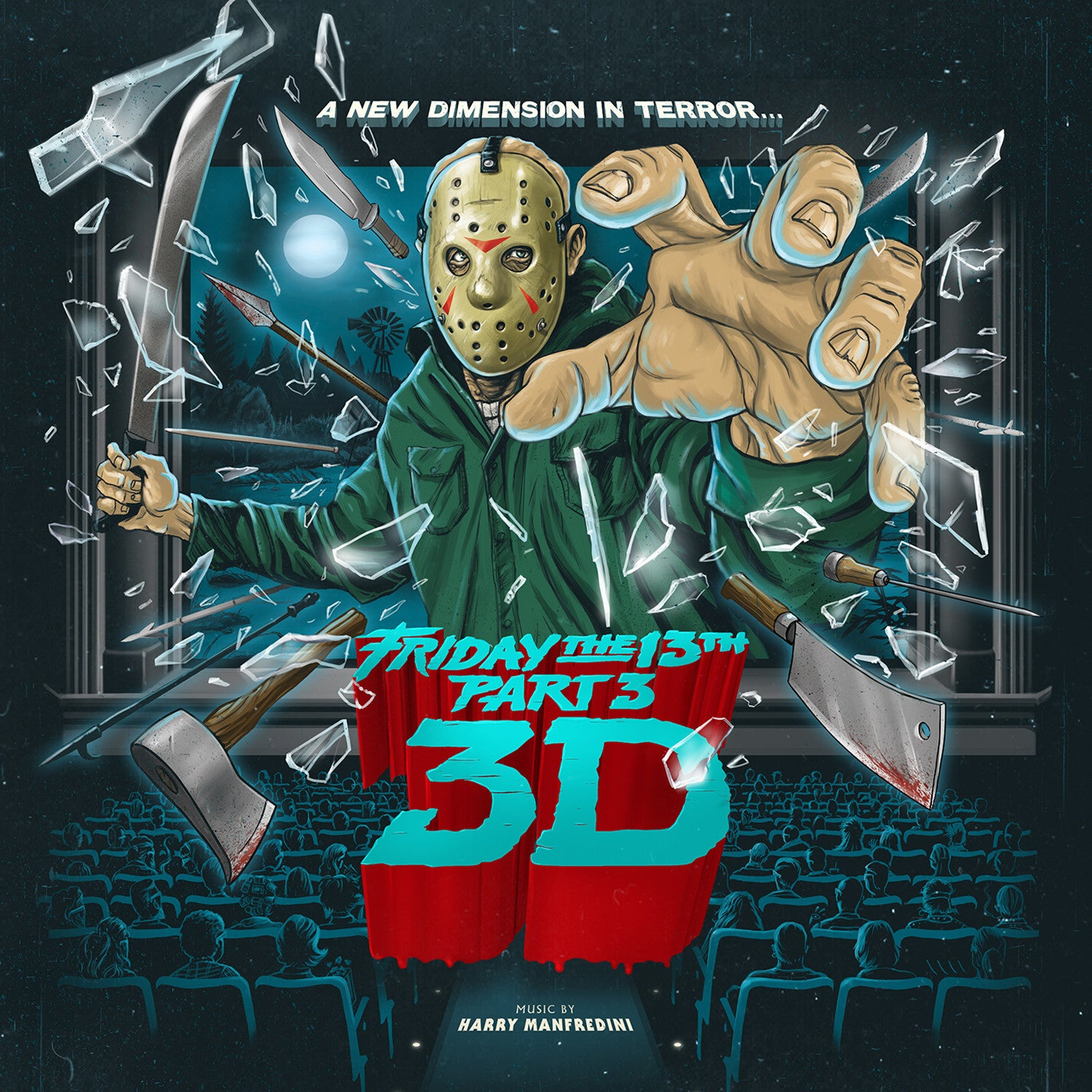 Harry Manfredini - Friday The 13th Part 3 3D OST LP