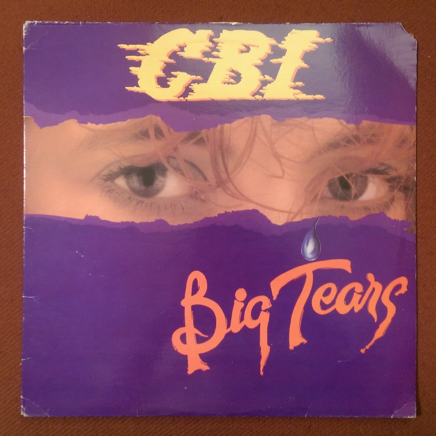"C.B.I. - Big Tears 12"" SINGLE"
