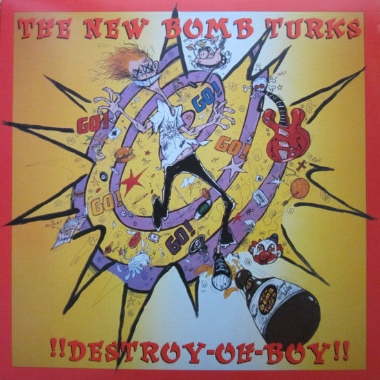 New Bomb Turks - Destroy Oh-Boy!! LP (Reissue)
